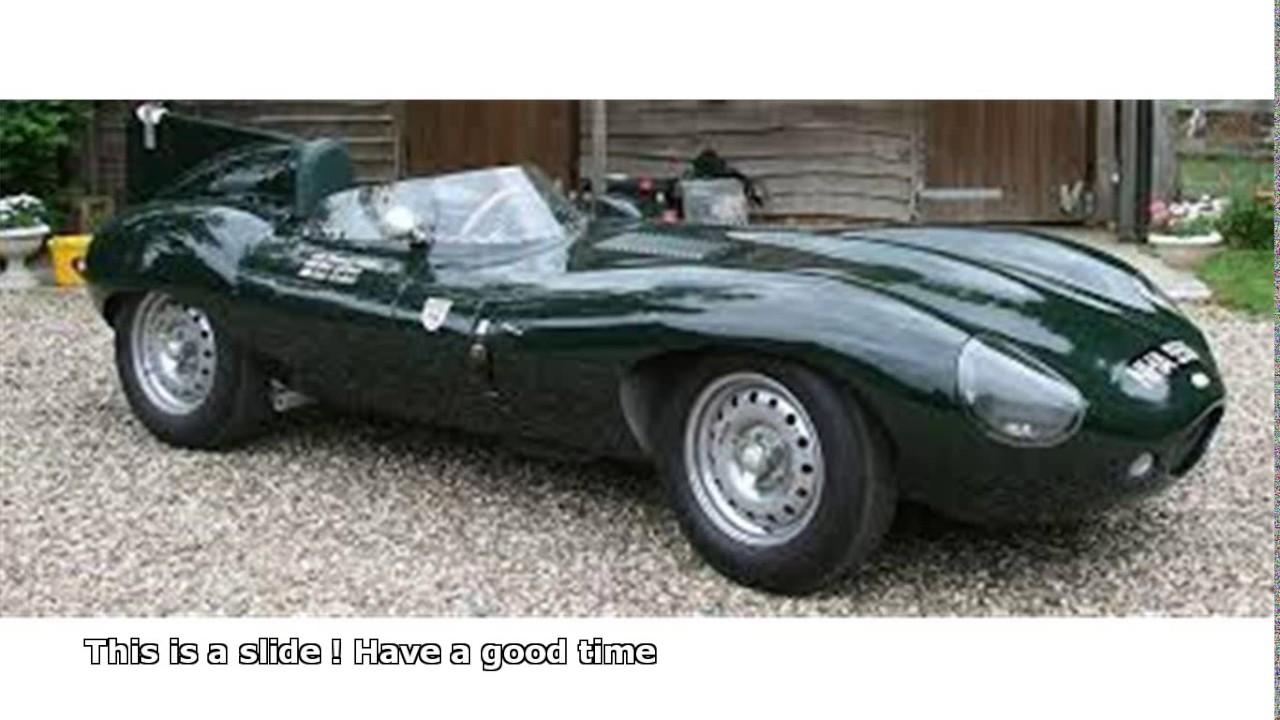 jaguar d type replica - YouTube