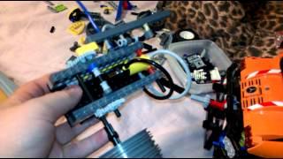 Lego pneumatic motor vaiheessa #2