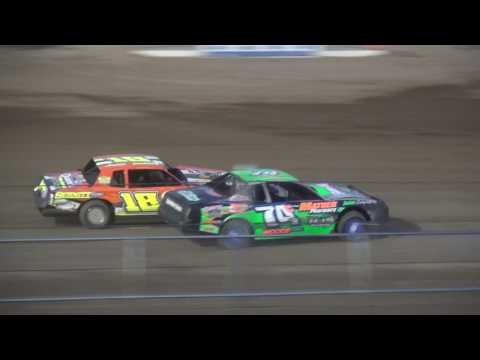 IMCA Stock Car feature Independence Motor Speedway 7/1/17