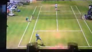 Virtua Tennis 2009 online singles (PS3)