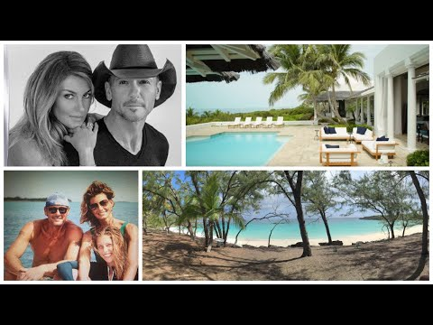 Tim McGraw And Faith Hill's Island In The Bahamas