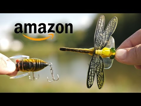 WEIRD Lures I Found On Amazon!! (Shocking)
