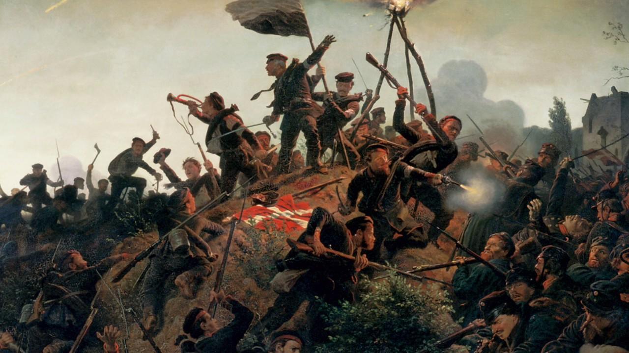 Slaget ved dybbøl 1864 - YouTube