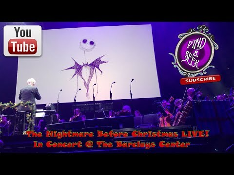 The Nightmare Before Christmas LIVE! @ The Barclays Center