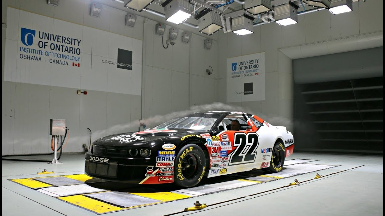 Nascar Wind Tunnel Testing Aerodynamics Youtube