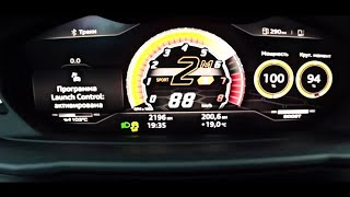 LAMBORGHINI URUS | ACCELERATION & TOP SPEED 0-303km/h LAUNCH CONTROL