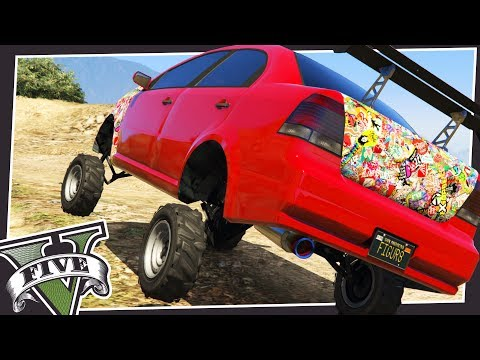 MAKING CUSTOM LIFTED VEHICLES IN GTA 5