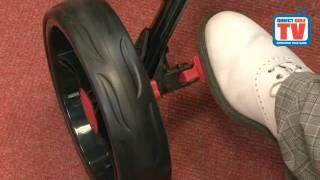 golf locker qwik fold 3 wheel golf trolley review