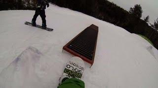 snowboarding GoPro hero3 black