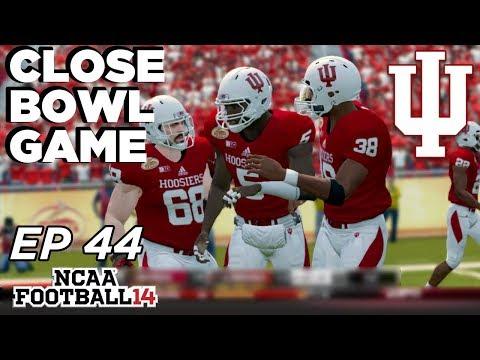 NCAA Football 14 Dynasty | Indiana Hoosiers - An End of an Era! - Ep 44