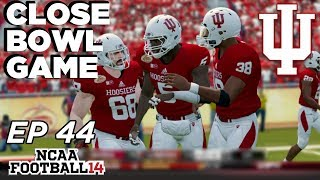 NCAA Football 14 Dynasty | Indiana Hoosiers - An End of an Era! - Ep 44