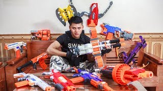 - Nerf Guns War Battleground Dangerous Missions Of Police SEAL TEAM Special Attack Enemies Groups