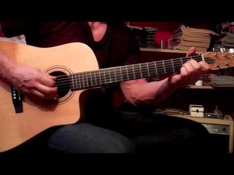 ALRIGHT  acoustic guitar lesson Darius Rucker