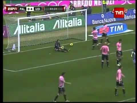 Palermo   Udinese 2011 Alexis Sanchez maestro 4 goles 360p