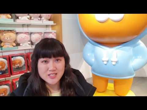 Магазин в Сеуле КАКАО FRIENDS~Помады MAC  Корея KAKAOFRENDS&MAC