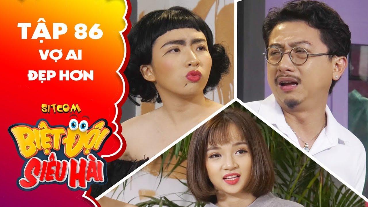 Biệt đội siêu hài | tập 86 - Tiểu phẩm: Hứa Minh Đạt bị Mỹ Kỳ đánh te tua vì léng phéng với gái xinh