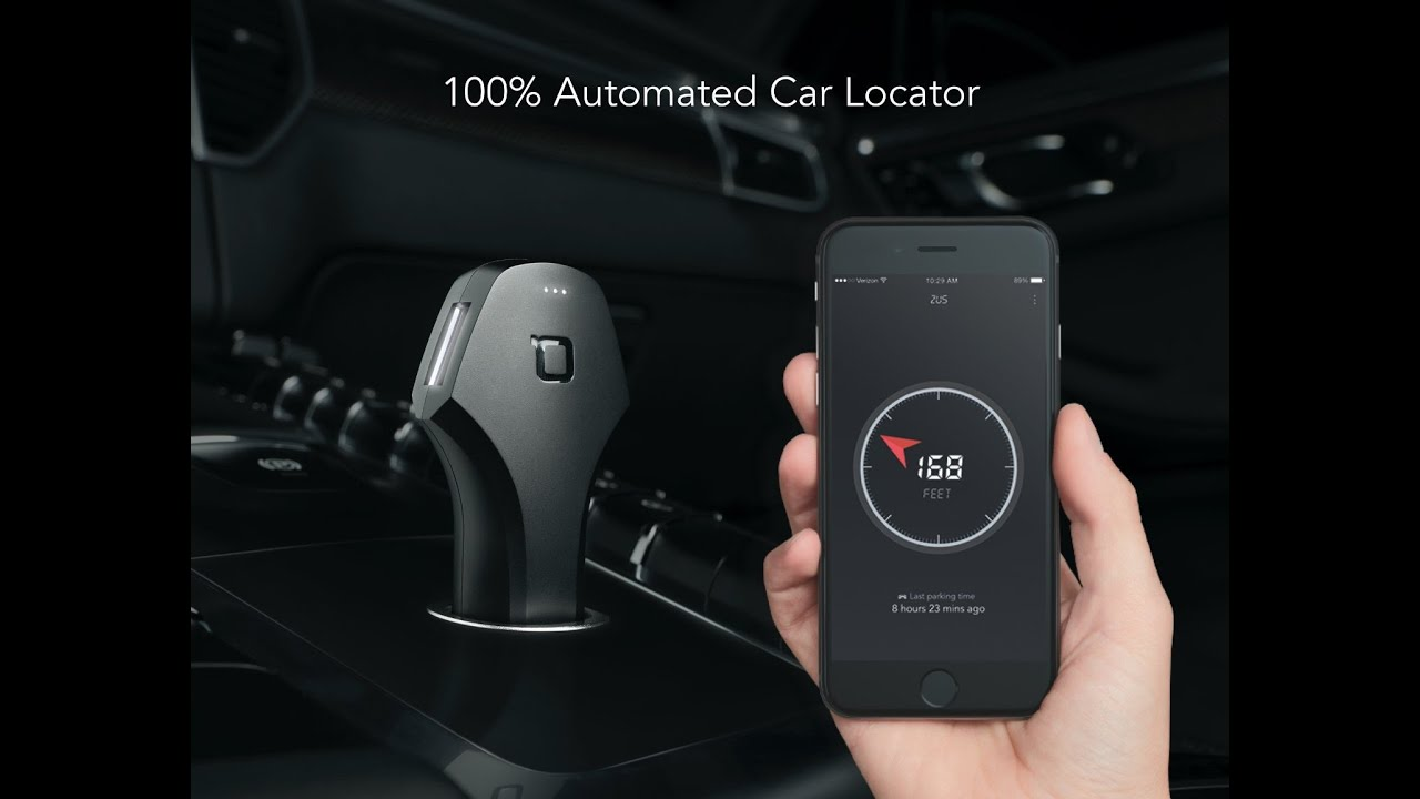 Zus Smart Dual Usb Car Charger And Locator Review And Use Youtube