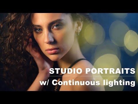 Creative Portraits In The Studio, Using Continuous Lighting