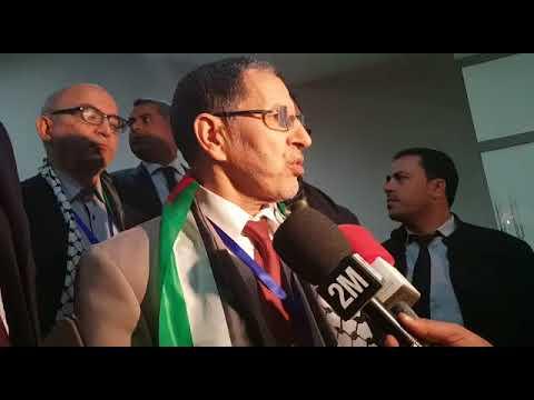 Déclaration de Saâd Eddine El Othmani après son élection à la tête du PJD