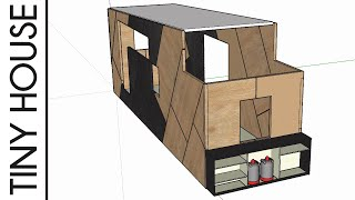 Hinten anstatt vorne - Gaskastenplanung mit Tech Tiny House