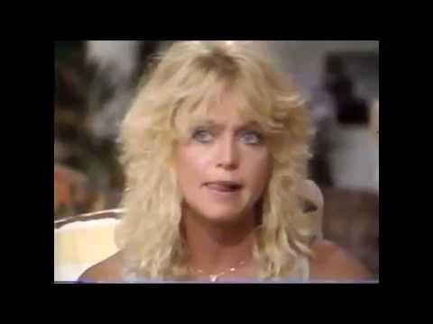 Goldie Hawn  Barbara Walters  1982