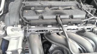 Шумная работа двигателя Ford Focus 1,6 100 л.с. (Duratec)(, 2014-06-17T08:49:47.000Z)