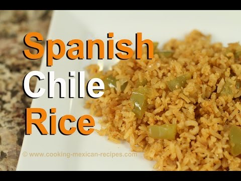 Homemade Spanish Rice With Tomatillos Recipe