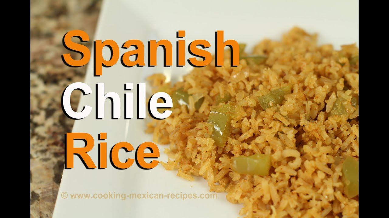 Homemade spanish rice recipe with tomatillos rockin robin youtube homemade spanish rice recipe with tomatillos rockin robin forumfinder Gallery