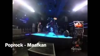 Gambar cover Poprock - Maafkan (soundcheck M Point)