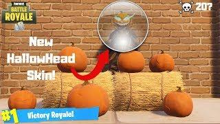 *NEW* HollowHead Skin Gameplay! Fortnite Battle Royale