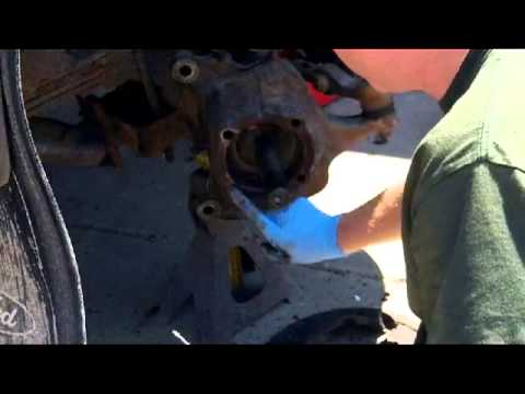 Work On The Skidsteer And Hub Bearing Replacement On The Super Duty  Youtube