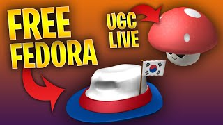 HOW TO GET A FREE FEDORA AND ROBLOX UGC UPDATE