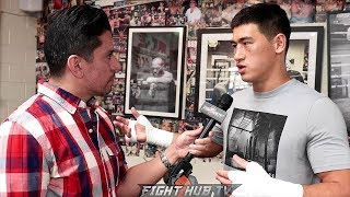 "DMITRY BIVOL ""BETERBIEV MAKES A GOOD FIGHT, PEOPLE WOULD LOVE TO SEE THIS. I BEAT EVERYONE AT 175"""