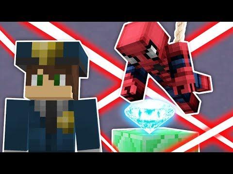 ÖRÜMCEK ADAM'la BANKA SOYGUNU - Minecraft