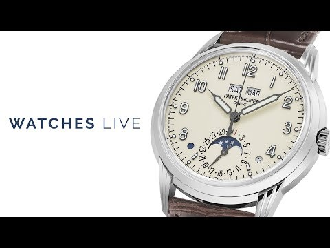 Watches Live: High & Low Horology: Patek Philippe, Vacheron, Rolex, Omega &... Seiko!