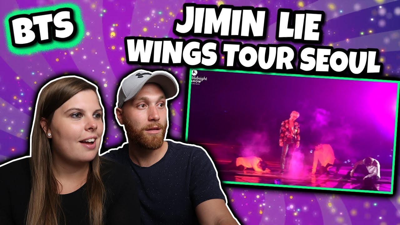 BTS JIMIN - LIE LIVE PERFORMANCE ON 170219 AT WINGS TOUR SEOUL REACTION
