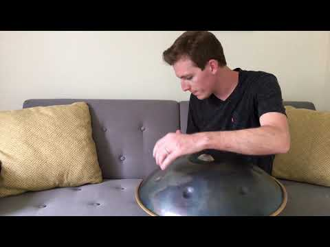 Classical Handpan Music on A Rainy Day