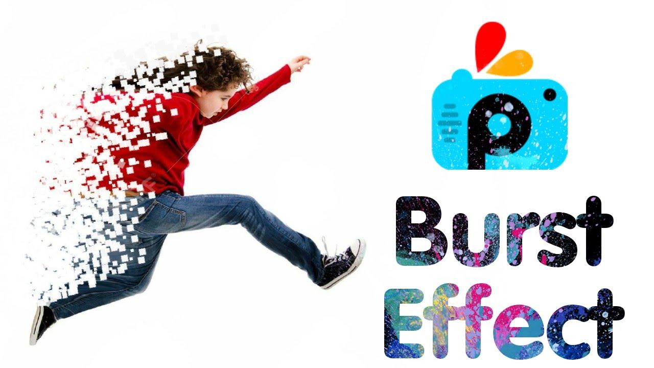 picsart editing tutorial how to make burst effect best picsart