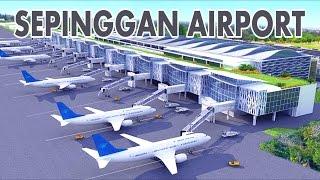 Data Kemegahan Bandara Sepinggan Balikpapan (Bandara Terbaik di Indonesia)