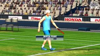 Virtua Tennis: World Tour Gameplay Tournament (PSP)