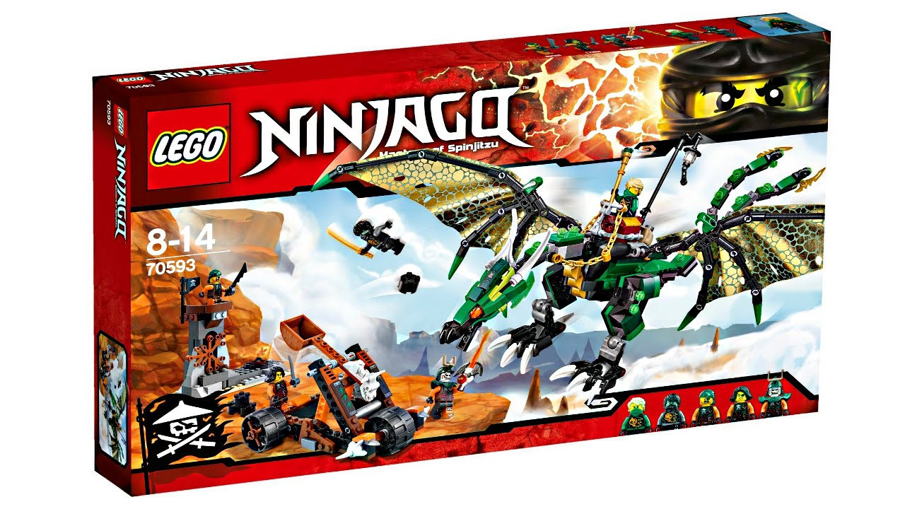 LEGO Ninjago 2016 Summer sets pictures! - YouTube