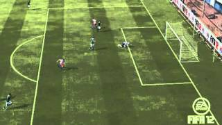 Fifa 12| Andy Carroll's cheeky goal