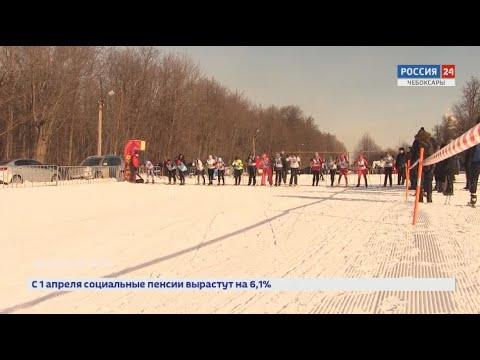 В Чебоксарах прошел чемпионат по лыжным гонкам среди силовых ведомств Чувашии