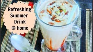 Cold Coffee with Ice Cream | गर्मियों में बनाये  कोल्ड कॉफ़ी  | Summer Refreshing Drink
