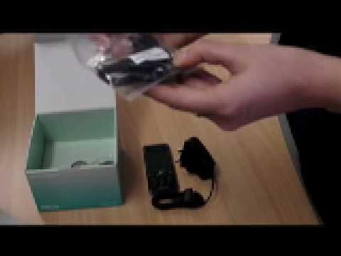 Sony Ericsson C510 unboxing