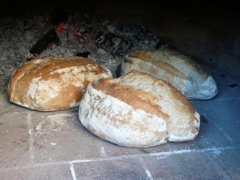 Como hacer pan en horno de le a youtube - Materiales para hacer un horno de lena ...