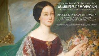 Las Mujeres de Monvoisin. Exposición de retratos. Chile, 2015.