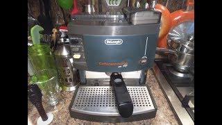 Кофеварка Delonghi BAR M110 обзор, доработки, кофе с пенкой и сгущенкой.
