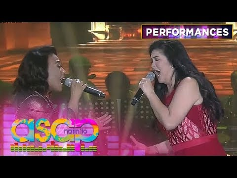 Regine and Jaya blend their voices in an emotional rendition of Habang May Buhay | ASAP Natin 'To
