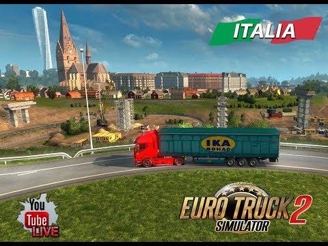 Euro Truck Simulator 2  Live ITA La Scorta ci Abbandona E Il Circo Ci Raggiunge